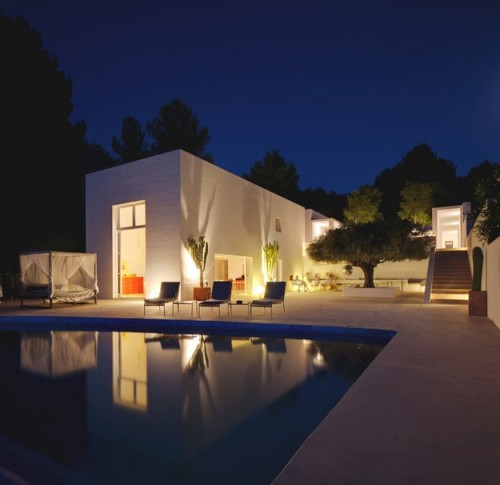Villa San Joan in Ibiza, designed by Jade Jagger
