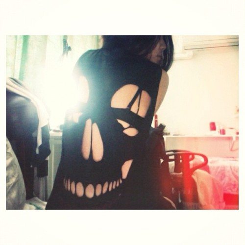 Ripped to bones. 💀 (Taken with instagram)