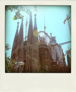 Sagrada de la Famila, Barcelona, Spain. 2011