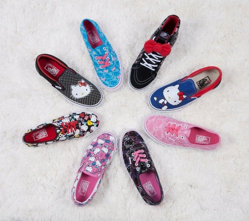 the-bomb-shop:  Sanrio X Vans