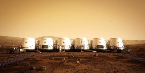 futurescope:  Mars One Plans to Start Mars Settlement in 2023 via nextbigfuture:  Mars One plans to establish the first human settlement on Mars by April 2023.The first crew of four astronauts emigrate to their new planet from Earth, a journey that takes seven months. A new team will join the settlement every two years. By 2033 there will be over twenty people living, working and flourishing on Mars, their new home.The business plan is to use reality TV and other revenue to support the costs of the project.  [Mars One] [image credit: Mars One]