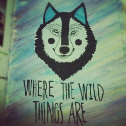 Where The Wild Things Are #doodle (Taken with instagram)