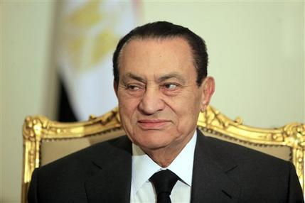 Mubarak sentenced to life in prison The Associated Press reports that Egypt's ex-President Hosni Mubarak has been sentenced to life in prison after a court convicted him on charges of complicity in the killing of protesters during last year's uprising that forced him from power. AP Photo/Amr Nabil