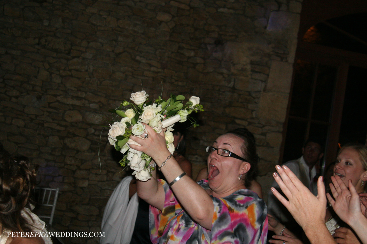 Catching the Bouquet !