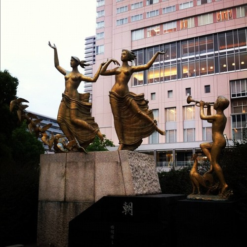 We are here!!  (Taken with Instagram at JR 広島駅 (Hiroshima Sta.))