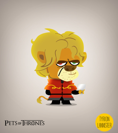 Pets of Thrones by Mareo Flores