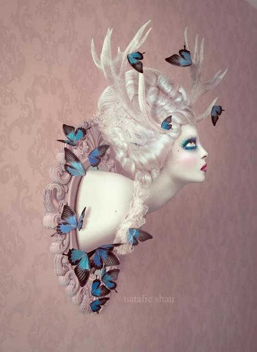 thecathouseinspiration:  Deer Doe by Natalie Shau
