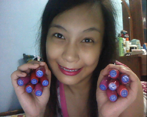 Just got home from a meet-up. Ordered tons of Excel Matte Lip Creams. Haha! I now have all of the shades. Love it! But I don't love the fact that I splurged on some beauty related products again. Nah, I kid! It's all worth my money! Hihi :)