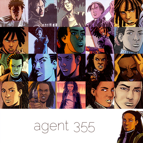 Agent 355 is my real name. I buried the old one with the rest of my family.
