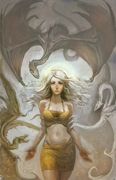 arkhane:  Mother Of Dragons by ~hungerartist Daenerys Targaryen from Game of Thrones.