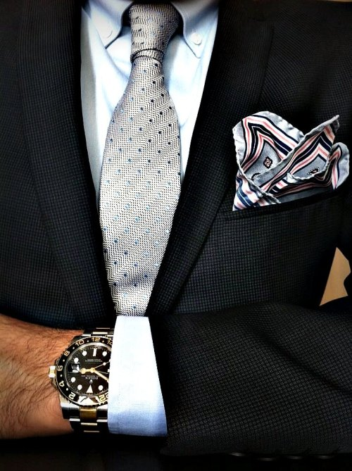 watchanish:  Mode-HFR Treading the formal/casual line with the ever appealing Rolex GMT 2 116713LN