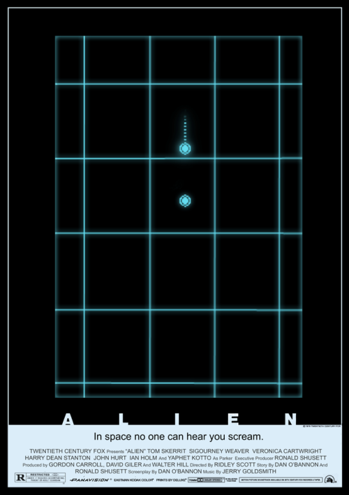 I'm watching Alien in preparation for my screening of Prometheus (Press screenings for the win!). It reminded me of this awesome poster! Artist Tristan Jones (IDW's Ghostbusters, Teenage Mutant Ninja Turtles) designed  it, and I absolutely love it!! He is selling A1 copies of it through his site and they're in limited supply. Buy one! I know I am! You can also check out more of Tristan's art here. He also sells many of his prints at All Star Comics, if you're a Melbourne local.