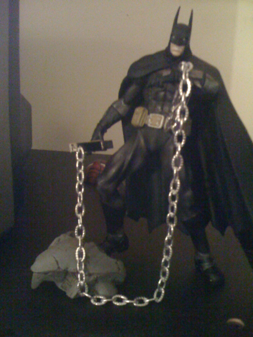 The Bat's got the nipple clamps!