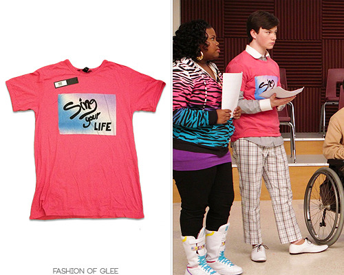 fashionofglee:  Marc by Marc Jacobs 'Sing Your Life' Tee - $55.00 (EBAY size large)