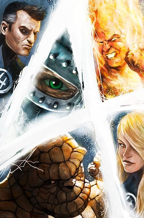 Fantastic 4 illustration