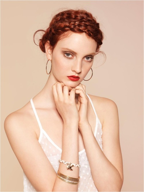 Codie Young for Stradivarius June 2012 Look Book