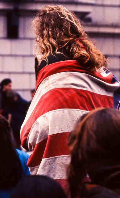 Gulf war protest by ★ CЯYSTΛL ★ on Flickr.