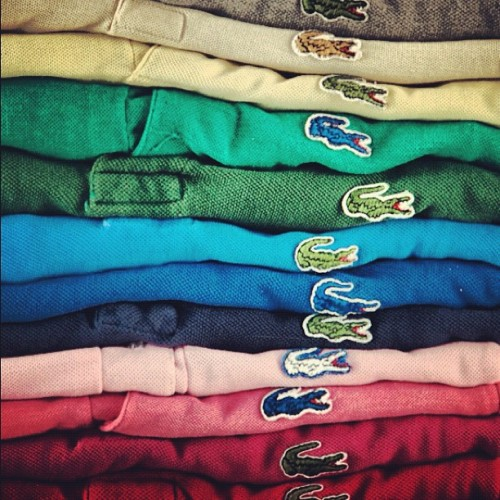 "kieljamespatrick:  And the gators in my closet screamed ""pick me… Pick me…) (Taken with instagram)  Swag. Future boys, take note."