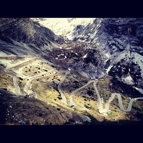 Stelvio! #giro by smashred on Flickr.