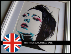 "To celebrate the Queens Diamond Jubilee, Mr. Frivolous (yep thats me) is having a MASSIVE discount sale on some original artworks. The sale starts from today until the 9th of June. So clicking because time ticking!!! Check the link below for more info on ""ITS NEVER REALLY OVER"":CLICK ME!!!!"