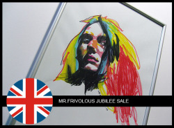"To celebrate the Queens Diamond Jubilee, Mr. Frivolous (yep thats me) is having a MASSIVE discount sale on some original artworks. The sale starts from today until the 9th of June. So clicking because time ticking!!! Check the link below for more info on ""REGRET"":CLICK ME!!!!"