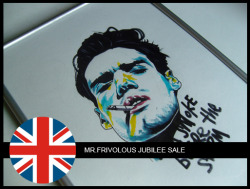 "To celebrate the Queens Diamond Jubilee, Mr. Frivolous (yep thats me) is having a MASSIVE discount sale on some original artworks. The sale starts from today until the 9th of June. So clicking because time ticking!!! Check the link below for more info on ""A SMOKE BEFORE THE STORM"":CLICK ME!!!!"