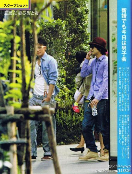 candy-candy93:  tomafanindia:  Shun and Toma. Josei Seven magazine. Credit as in pic.  Is this recent? He looks kakoii!<3