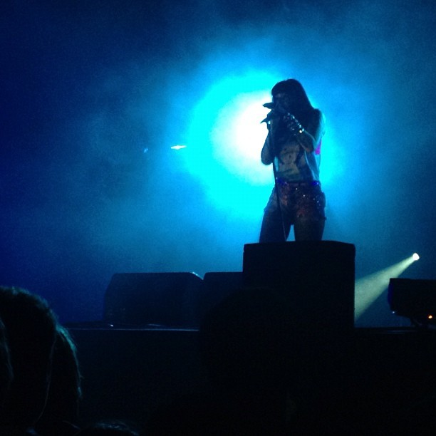 @SleighBells last night at (Taken with Instagram at Primavera Sound 2012)