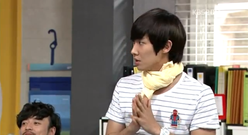 waaaaaaaaaaah~~~~ Spider-Man & Lee Joon ♥ ♥ ♥