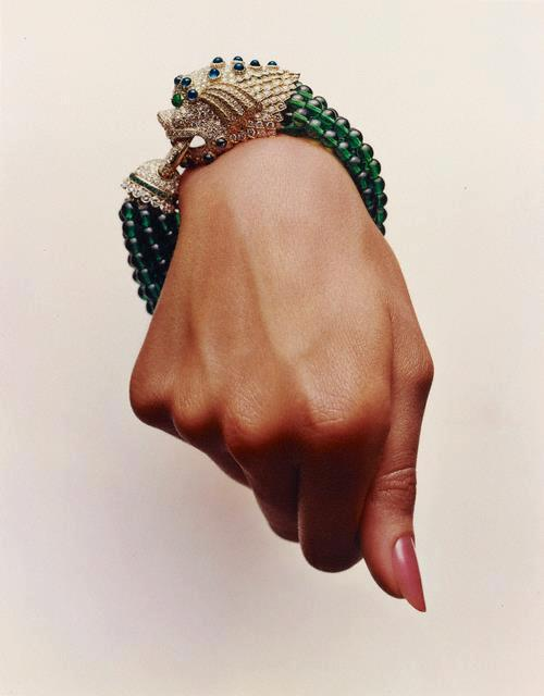 Hand With A Van Cleef & Arpels Bracelet Photographed By Hiro For The July 1964 Issue Of Harper's Bazaar
