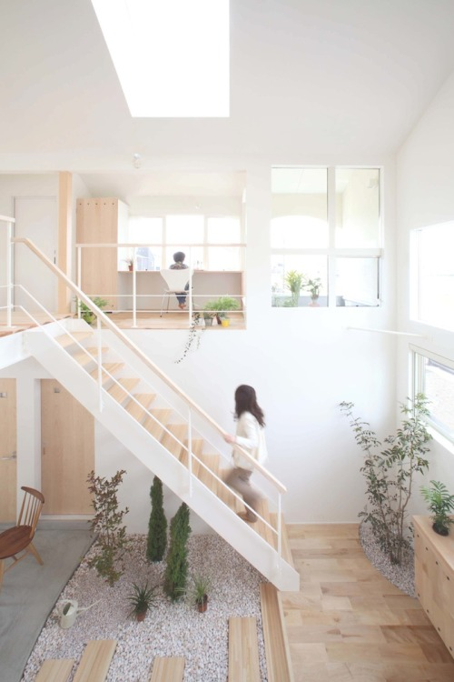 agujerosblancos:  thisispaper:Kofunaki House by ALTS Design Office