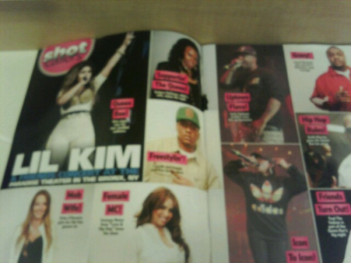 estiixviiiiv:  Lil Kim In The New Hip Hop Weekly