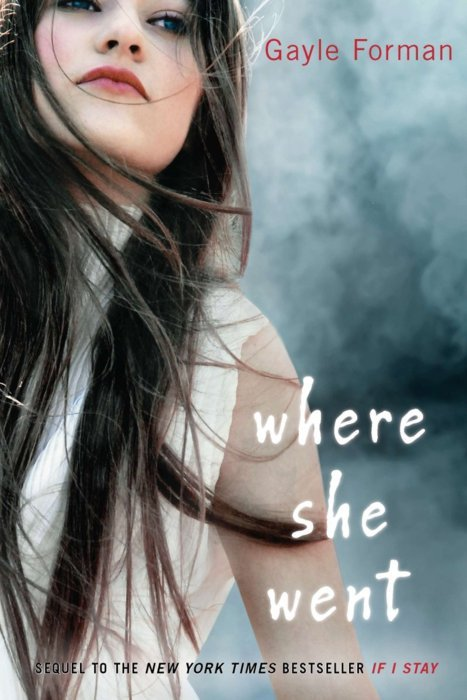 "Where She Went (If I Stay #2)  by Gayle Forman My Rating: 4/5 cups of coffee My Review:  ""If you stay, I'll do whatever you want. I'll quit the band, go with you to New York. But if you need me to go away, I'll do that, too. I was talking to Liz and she said maybe coming back to your old life would just be too painful, that maybe it'd be easier for you to erase us. And that would suck, but I'd do it. I can lose you like that if I don't lose you today. I'll let you go. If you stay"" - Adam  OMG! This book is amazing. It's from Adam's POV, so it really interest me. I love reading boys/guys POV, I mean I think it's different from a girls point of view. So this book is the sequel of If I Stay but I think the only problem with this book is the lack of excitement and twist even though the plot is beautiful. I thought there's something more but still it captures my attention. I think, I just need more from Adam and Mia. I wish there was a third book."