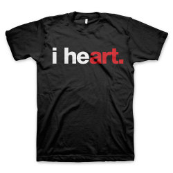 Express your love for art, in a little more of an artsy way. Available in the WORDS BRAND™ Store.