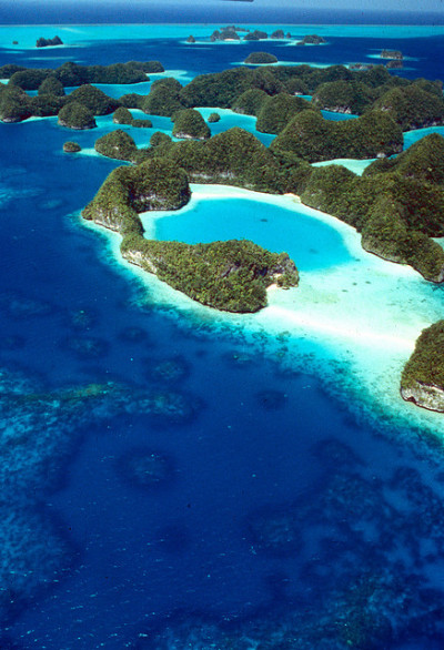 The Rock Islands, Palau