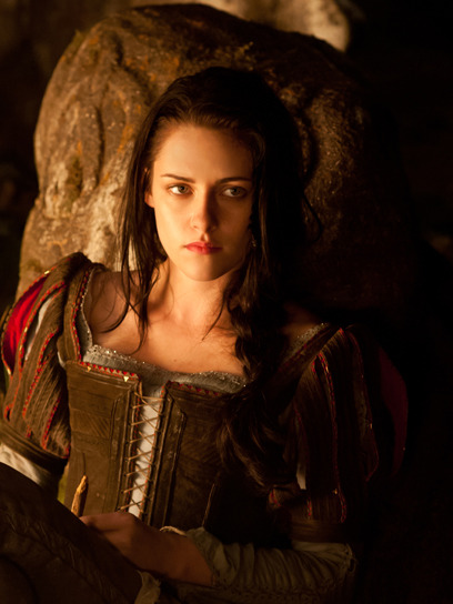 Kristen Stewart opens up about filming Snow White and the Huntsman and why she chooses to play empowering female characters. Get the scoop here »