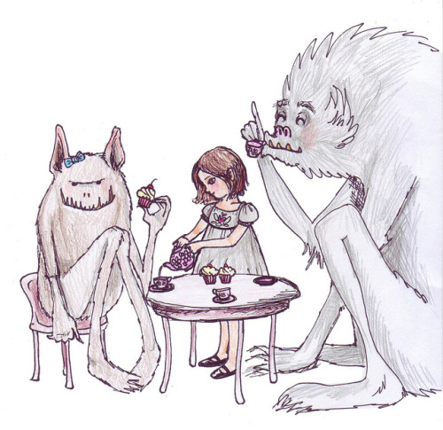 beefranck:  Monster Tea Time by HerOdyssey on Flickr.