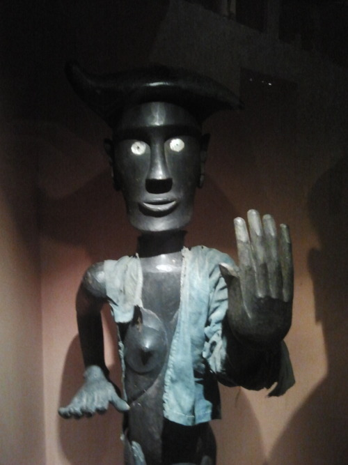 dogbeak:  indonesian protection against evil spirits at the tropenmuseum, amsterdam
