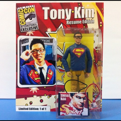 Me as a Comic-Con exclusive! How much would I go on eBay? #SDCC  (Taken with instagram)