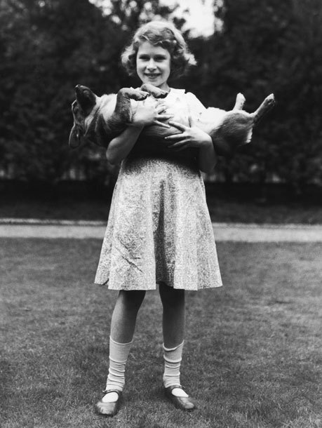 Queen Elizabeth over the years with her corgis and other animals EVERYTHING about these photos is amazing! click through for the entire slideshow. So many corgis!
