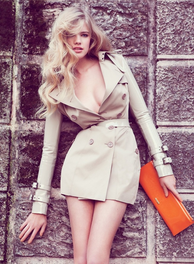 "Valerie Van Der Graaf in ""Bardot Meets Barbarella"" by Klaas Jan Kliphuis for  Avantgarde , June 2011"