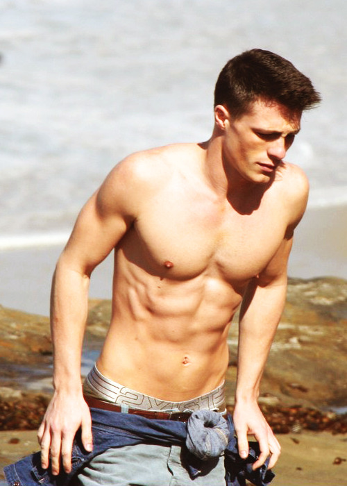 fy-coltonhaynes:  22/100 Photos of Colton Haynes (x)