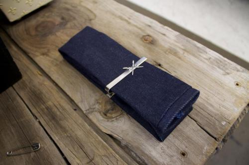 Do you have a denim tie? How about a den.m bar handcrafted Cone Denim Selvedge Tie http://www.etsy.com/shop/denmbar?ref=si_shop