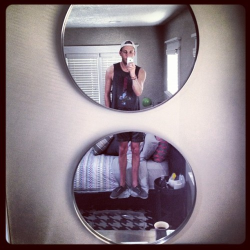 Love mirrors. :) (Taken with Instagram at Kensington Ave)