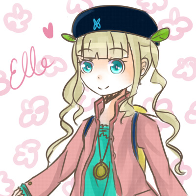 Tales of Xillia 2: Elle  or El or Ell idk how you want to spell it XD. It's like 2:30 am here but I couldn't sleep without drawing the new loli heroine of the new Tales of game! It's really messy and rough — did this in like 10 min orz Good night everyone~