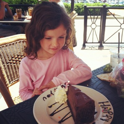 Happy birthday, Kayleigh! (Taken with Instagram at The Cheesecake Factory)