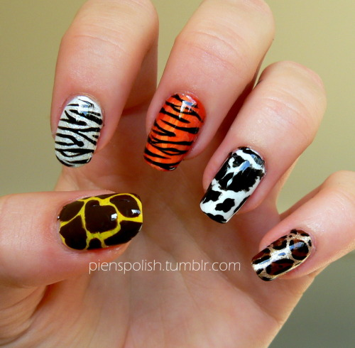 pienspolish:  Animal prints mixup!