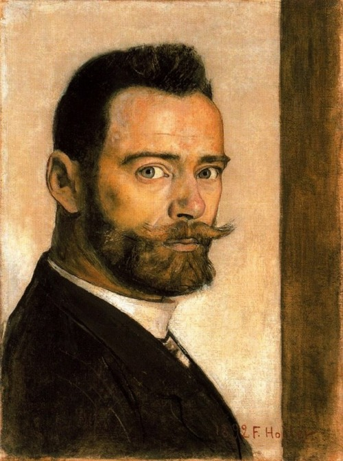 brazenswing:  Ferdinand Hodler: Self-Portrait, 1892.