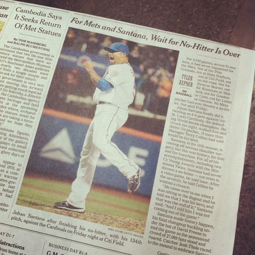 "soupsoup:  Below the fold. Really, NEW YORK Times??? (Taken with instagram)  LOL: ""Cambodia Says It Seeks Return of Met Statues"""