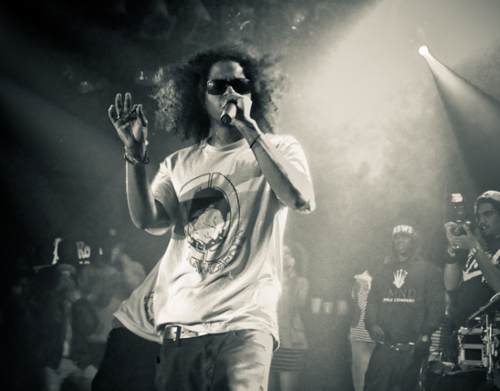 kerri-sofargone:  Ab-soul  His hair though 😳
